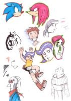 Marker Sketches by GeorgeRottkamp