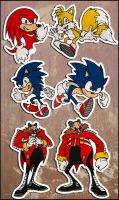 Sonic Sketches by RatchetMario