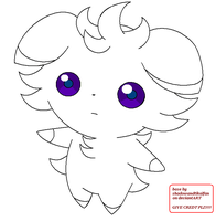 Espurr base/lineart :free to use: by shadowandtikalfan