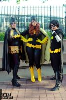 The Batgirls by stitchesandsongbirds