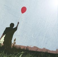 A Boy and His Red Balloon by imccleskey