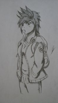 OC Drawing| Tomboy Style by ULGerard