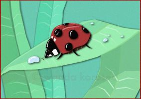 Little Ladybug by -lildragon-