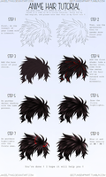 Hair Colouring Tutorial by JakeeltyMG
