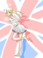 [APH] Britain Angel by GiEngland