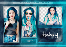 PACK PNG 184| HALSEY by MAGIC-PNGS