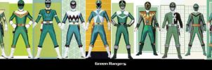 Green Rangers by TommyOliver5