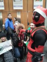 Deadpool for one day by ReverendoGore