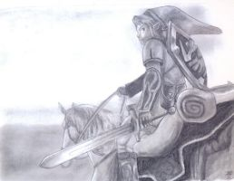 Riding into the Grey by Sukee