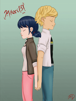 Those two...are made for each other GIF by Mikari131