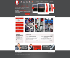 Machinery company website by lys036