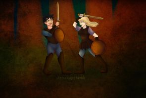 Percabeth by StarbuckViper