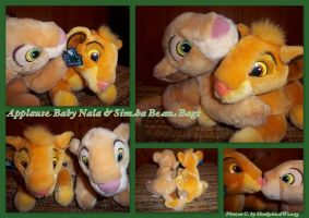 Applausa Nala and Simba Bean Bags by DoloAndElectrik