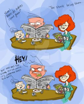 The world's biggest question 3 by ScribbleNetty