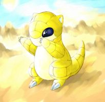 Sandshrew by cerasly
