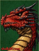 Red Dragon Five- Elder Serpent by VegasMike