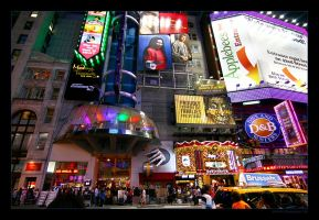 Times Square, NY 2 by imaginee