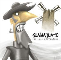 don quijote by TOTOPO