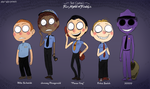 Five Nights at Freddy's: Security Guards by Atlas-White