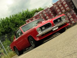 red plymouth barracuda by AmericanMuscle