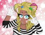 Ganguro Catgirl Mime by Agent-Jin
