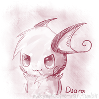 Duora doodle by poke-helioptile294