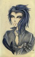 Crow Leader Korvin by Khallandra