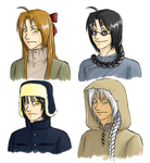 FMA - Edward Disguises by FerioWind