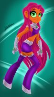 Go Starfire! by Anamated