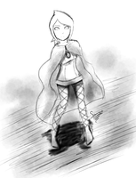 Fi Thinks - Legend of Zelda Skyward Sword :SKETCH: by spenzbowart