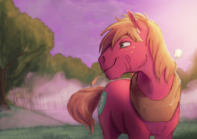 Collab: Before Sundown by DarkFlame75