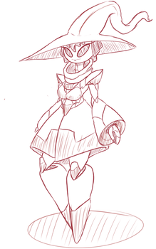 Robo witch by Thebigboifolder