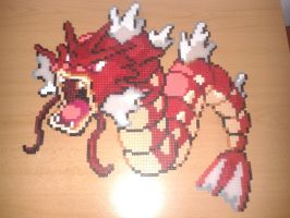 Red Gyarados by Jesusclon