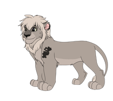 Male Lion Adoptable 11 - CLOSED - by Soufroma