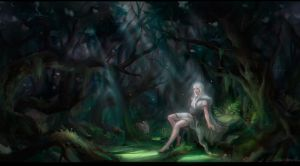 The old forest by brokenfaces63