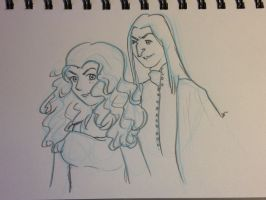 Snape Doodle 261 by dragoon811