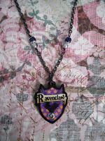 Ravenclaw Gunmetal Sparkle Necklace by AriesNamarie