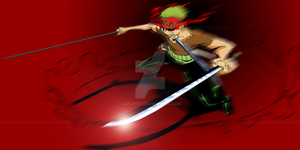 Zoro Fanart by ddLuffy