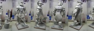 The Executioner Bowen Designs custom bust statue by figuralia