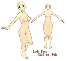 MMD- Lady Base -DL by MMDFakewings18