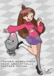 pokemon_crossover Mabel by badafra