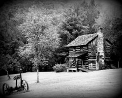 Gladie Cabin Red River Gorge Natural Area KY by MellsPics