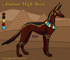Adoptable - Anubian High Born - Closed by StygmaTestAccount