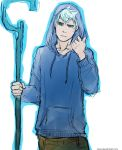 the sketch of Jack Frost by Dver