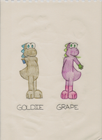 Goldie and Grape: Version 1.1 by iKYLE