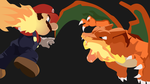 Mario and Charizard Smash Brothers wallpaper by Browniehooves
