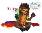 Strip Poker by whiskey-lullaby