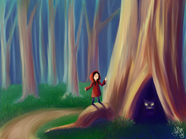 Little Red Riding Hood by iam-holly