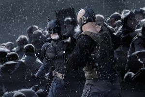 The Dark Knight Rises Artwork by J-K-K-S