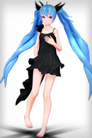 [No Occasion Gift].:TDA Deep Sea Miku DL:. by ChocoFudge98